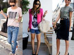 Junto com a calça jeans e a camisa branca, a T-shirt é uma das peças mais clássicas da moda. Ela tem fama de despojada, mas a gente garante que é injusta. Com alguns truques de estilo é totalmente …