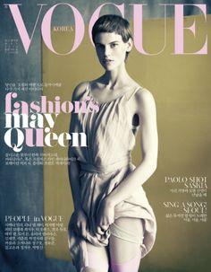 Vogue Corea / Saskia de Brauw por Paolo Roversi. May 2012
