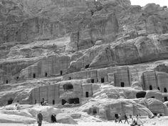 Jordan - Tombstone in Petra