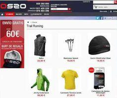 Tienda de Montaña online de OS2O: Material de alpinismo, trail running, senderismo y más.