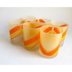 Vintage glassware from irioN.