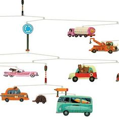 Djeco might just become one of my favourite favourites! Their mobiles are everything you want...