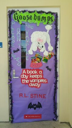 Goosebumps door contest