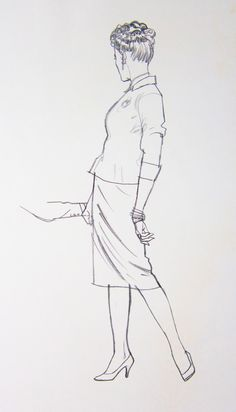 unpublished drawings by Austin Briggs. It is a shame that Briggs does not get much attention today; for decades he was one of the most highly regarded illustrators in the country. An excellent painter, Briggs was especially known for the great subtlety and sensitivity of his drawing with a lithography crayon or other tools.