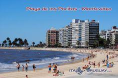 Dolce fuga dall'#Inverno. Un posto al giorno da scoprire durante l'#Estate in #Uruguay.  Iniziamo dalla Playa Pocitos, una delle spiagge più frequentate di #Montevideo: http://ow.ly/HYD2R