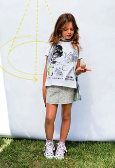 Denim Skirt and Girls White T-shirt - Bóboli Preppy Summer www.kidsandchic.com/girls-white-t-shirt-boboli-preppy-summer.html www.kidsandchic.com/denim-skirt-boboli-preppy-summer.html  #boboli #girlsclothing #girlsfashion #kidsfashion #kidsclothing #trendychildren #babyclothes #toddlerclothes #shoponline #shoppingbarcelona #girls #ss2014 #summer #ropaniñas #niña #skirt #tshirt #girlsskirt #girlstshirt #babyskirt