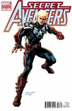 Secret Avengers # 17 (Variant) by Mark Bagley & Andy Lanning