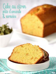 Cake au citron, pâte d'amande & verveine - Alter Gusto
