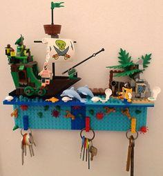 Vesiak na kluce lego