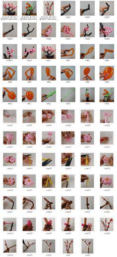 풍선하하 balloonhaha ㅡ 원본 사진 ㅡ 큰 사진은 이메일로 보내드립니다: 교육용 122 꽃 나무