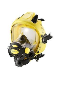 Integrated Dive Mask. No Fogging, No Jaw Fatigue, No Problem. You can even dive with your prescription.  #scuba #fullfacemask #oceanreef #scubagear #gear #diving #mask #divegear