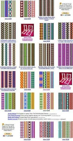 free bead patterns for the loo