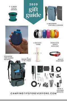 Camping gear gift ideas for all budgets Rv Camping Tips, Camping For Beginners, Best Camping Gear, Camping Tools, Camping Gifts, Tent Camping, Camping Holidays, Coffee Gifts, Van Life