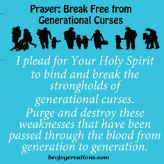 Prayer - Break Free from Generational Curses
