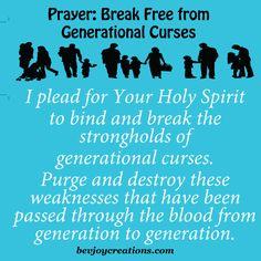 Prayer - Break Free from Generational Curses