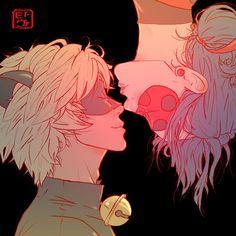 Valentine's Day- Ladynoir by invisibleninja12.deviantart.com on @DeviantArt