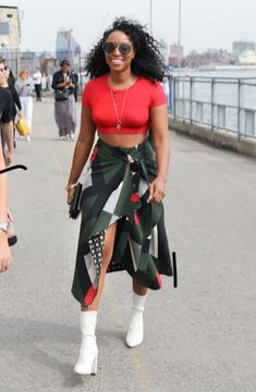purchase cheap 7ecf7 5e4de The Best Street Style From New York Fashion Week Spring  18