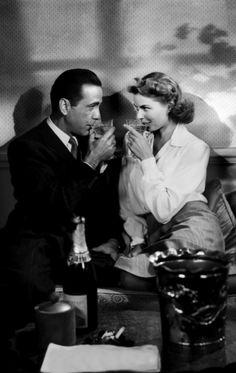 Humphrey Bogart, Ingrid Bergman - Casablanca (Michael Curtiz, 1942)