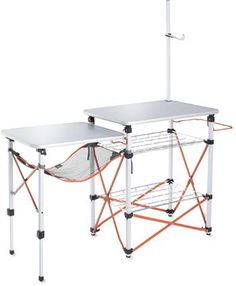 the coolest camp kitchen amp your camp essentials for modern camping nwtripfinder - Camping Kitchen Tables