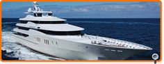 MY Eminence Private Yacht, Luxury Yachts, Image, Trains, Boats, Wheels, Ships, Google Search, Blue