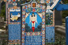 Travel images of the Merry Cemetery, Romania. Get inspired before you go or just enjoy the amazing pictures!