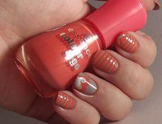 Ithinity Beauty ~ Nail Art Blog: Coral Loves Greyson