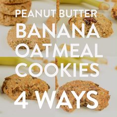 oatmeal cookies healthy \ oatmeal cookies ` oatmeal cookies easy ` oatmeal cookies healthy ` oatmeal cookies chewy ` oatmeal cookies recipes ` oatmeal cookies chocolate chip ` oatmeal cookies easy 2 ingredients ` oatmeal cookies with quick oats Peanut Butter Banana Cookies, Vegan Oatmeal Cookies, Healthy Oatmeal Cookies, Peanut Butter Oatmeal, Peanut Butter Cookie Recipe, Powder Peanut Butter Recipes, Easy Vegan Cookies, Healthy Cookie Recipes, Desserts Keto