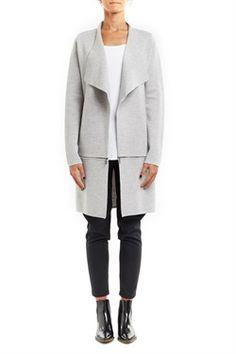 CS15140a  Zoe Zip Milano Coat
