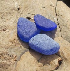 Large Sea Glass, Blue Authentic Surf Tumbled Smooth No Hole Jewelry Making Gems by KreationsfromKaos on Etsy Sea Glass, Surfing, Jewelry Making, Gems, Smooth, Natural, Unique Jewelry, Handmade Gifts, Blue