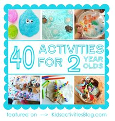 40+ Activities For 2 Year Olds | DIY Tag