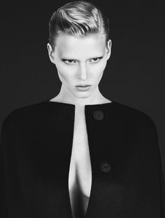 Lara Stone by Mert & Marcus for Calvin Klein Fall 2010 Campaign