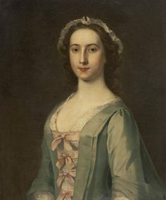 William De Nune (1729-1750), Portrait of Jenny Fall, Lady Anstruther