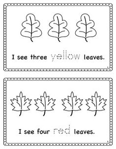 Fall Printables - Literacy, Math, & Science | Activities for ...