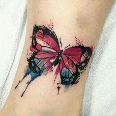 Tattoo butterflay