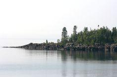 Artist's Point, Lake Superior at Grand Marais, MN