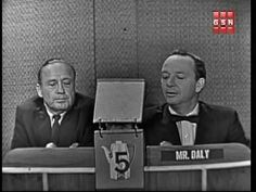 Jack Benny - What's My Line?    This is soo hilarious!