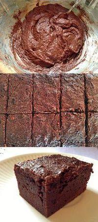 Low Carb Keto Brownies #lowcarb #keto #dessert #recipe