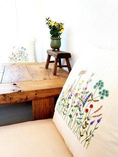 11번째 이미지 Bed Pillows, Cushions, Plant Art, Cushion Covers, Pillow Cases, Fine Art, Embroidery, Blog, Home