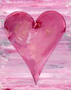 Pink heart..