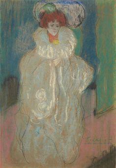 La Diva (1901) - Pablo Picasso