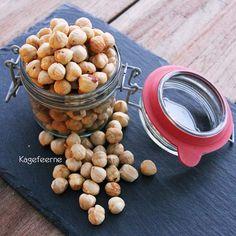 Homemade roasted hazelnuts - Hjemmelavede ristede hasselnødder