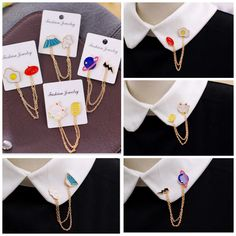 Seoul Young - Chain #Collar Brooch