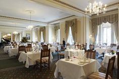 The Garden Restaurant at The Grand Hotel, Eastbourne.