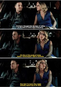This is why I love Felicity Dc Tv Shows, The Cw Shows, Arrow Cw, Team Arrow, Supergirl Dc, Supergirl And Flash, The Flash, Arrow Oliver And Felicity, Dc Comics