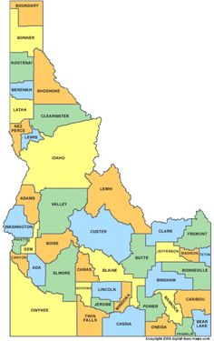 Guide to Idaho ancestry, family history, and genealogy birth records, marriage records, death records, census records, family history, and military records.