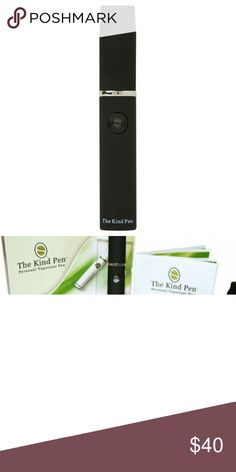 Kind Pen V2 For dry herb, wax, or oil. Kind Pen V2 Accessories