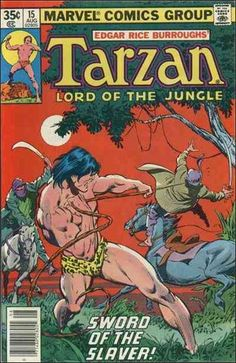tarzan comic books | Tarzan 15 A, Aug 1978 Comic Book by Marvel