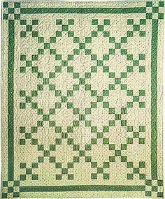 Irish Chain Quilt.                                                                                                                                                                                 More