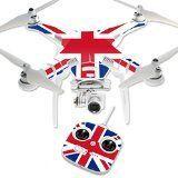 MightySkins Protective Vinyl Skin Decal for DJI Phantom 3 Standard Quadcopter Drone wrap cover sticker skins British Pride - http://dronesheaven.ianjweboffers.com/mightyskins-protective-vinyl-skin-decal-for-dji-phantom-3-standard-quadcopter-drone-wrap-cover-sticker-skins-british-pride/