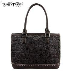 Montana West Trinity Ranch Genuine Leather Handbag (TR15-L8317)